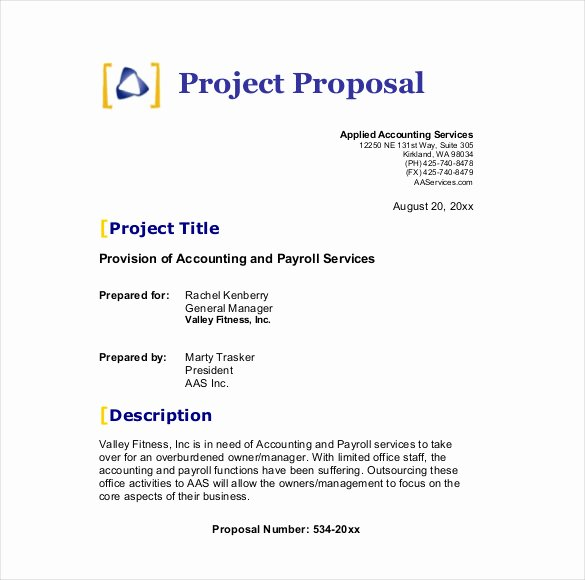 Documentary Proposal Sample New 32 Business Proposal Templates Doc Pdf