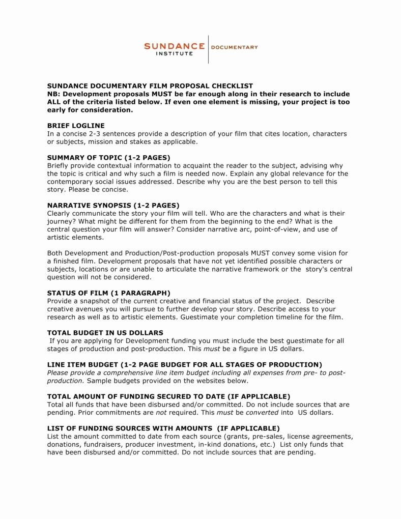 Documentary Proposal Template Inspirational 10 Proposal Templates for Your Project