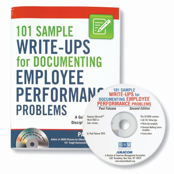Documenting Employee Performance Template Elegant 101 Sample Write Ups for Documenting Employee Performance