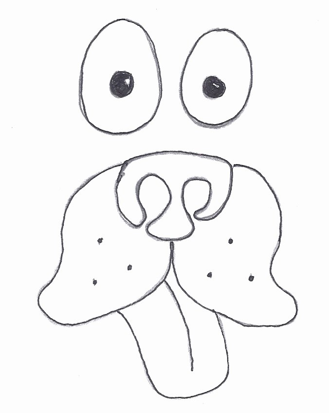 Dog Face Template New Dog Face Cut Out Pattern Dog Face Cut Out Pattern A Hermit