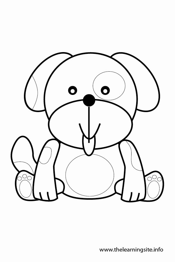 Dog Face Template Unique Best S Of Dog Face Outline Template Cartoon Dog
