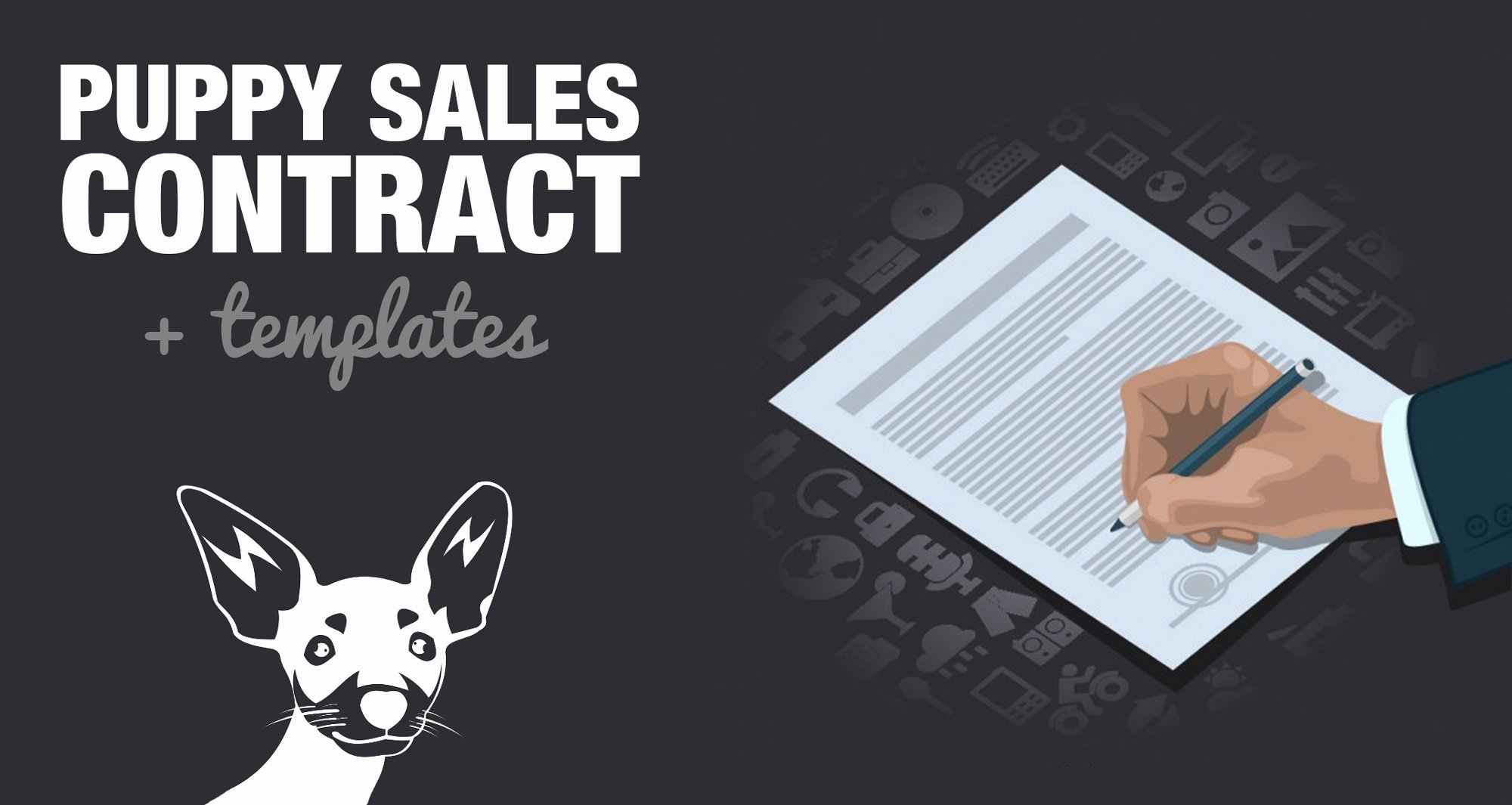 Dog Training Contract Template Elegant Free Puppy Sales Contract Template & Word Doc Sample