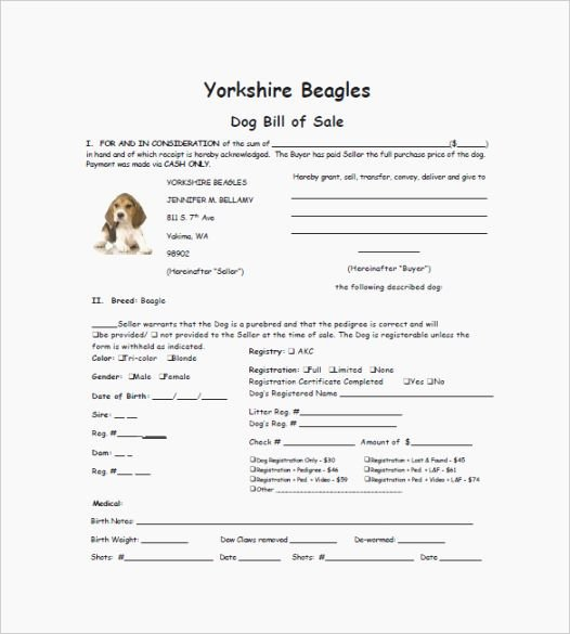 Dog Training Contract Template Unique top 44 Candid Free Printable Puppy Sales Contract