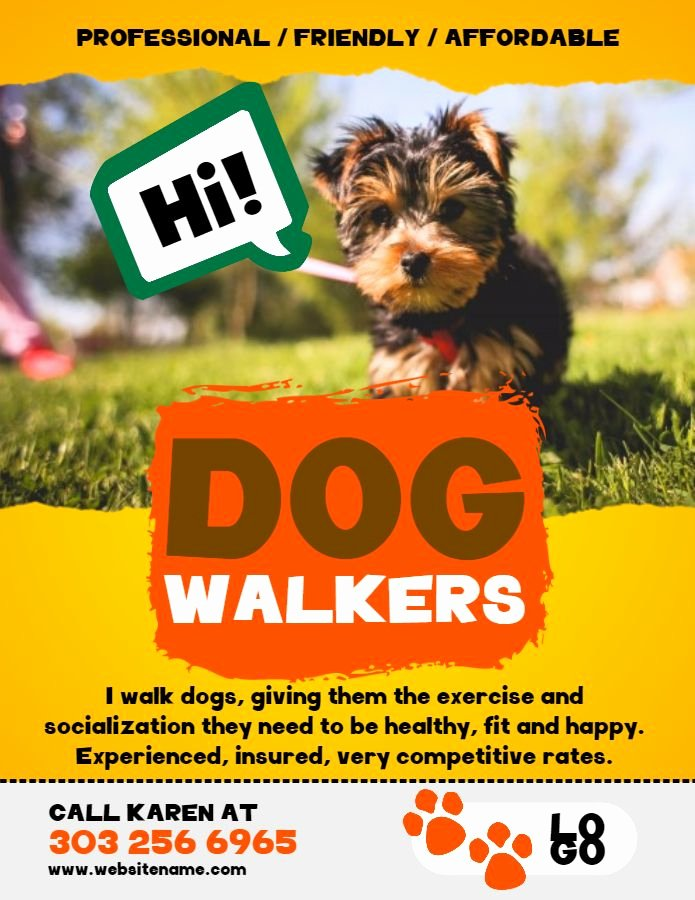 Dog Walking Flyer Ideas Beautiful 12 Best Lost Pets and Pet Adoption Flyers Images On