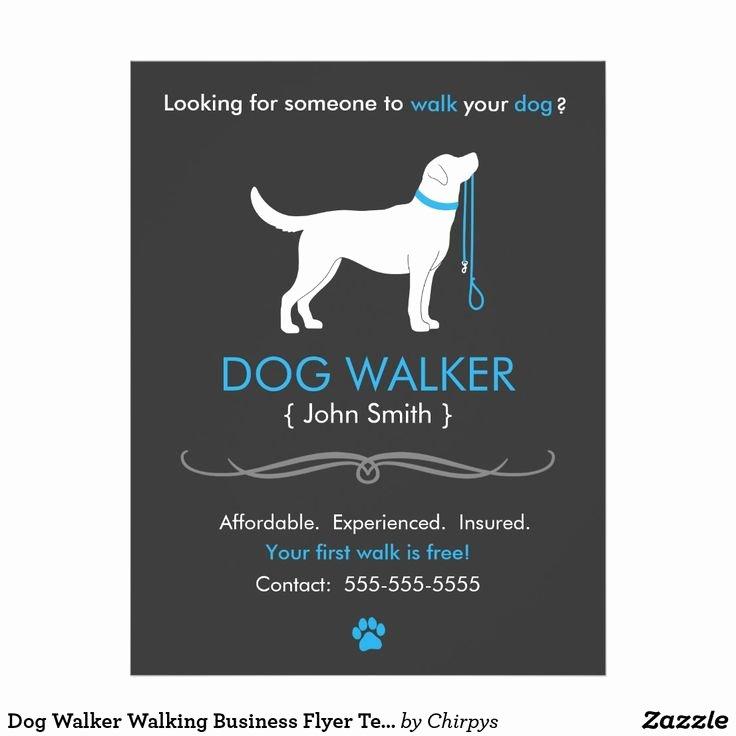 Dog Walking Flyer Ideas Elegant 708 Best Exceptional Business Cards Images On Pinterest