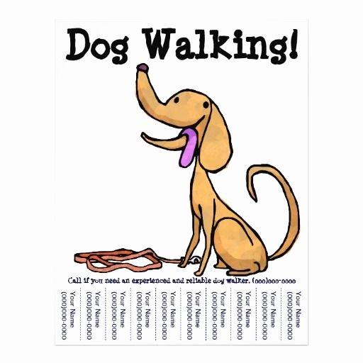 Dog Walking Flyer Template Inspirational Dog Walking Flyers Google Search