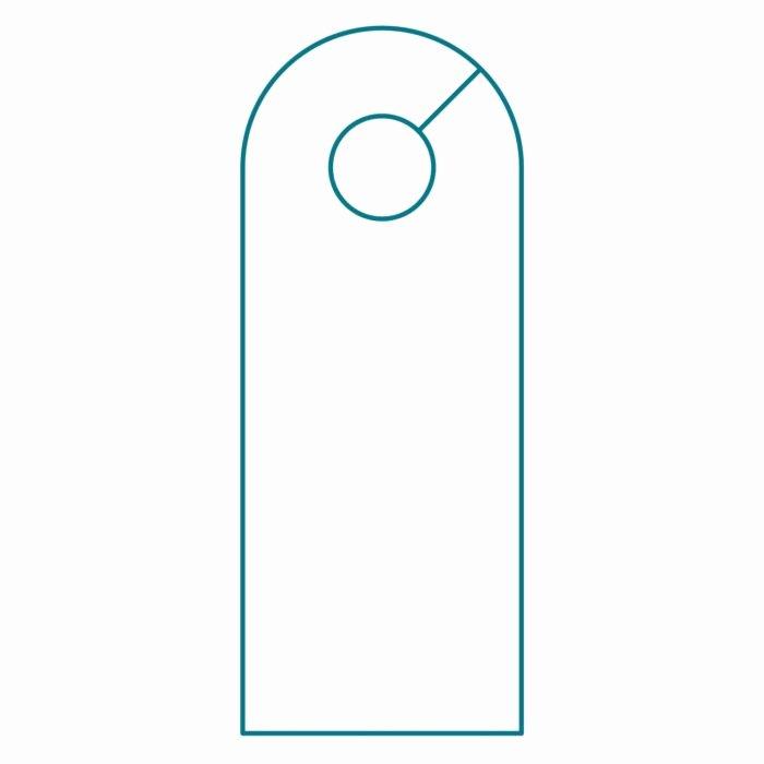 Door Hanger Template Illustrator Beautiful Do Not Disturb Door Hanger Template Templates Resume