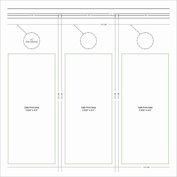 Door Hanger Template Illustrator Best Of 15 Door Hangers