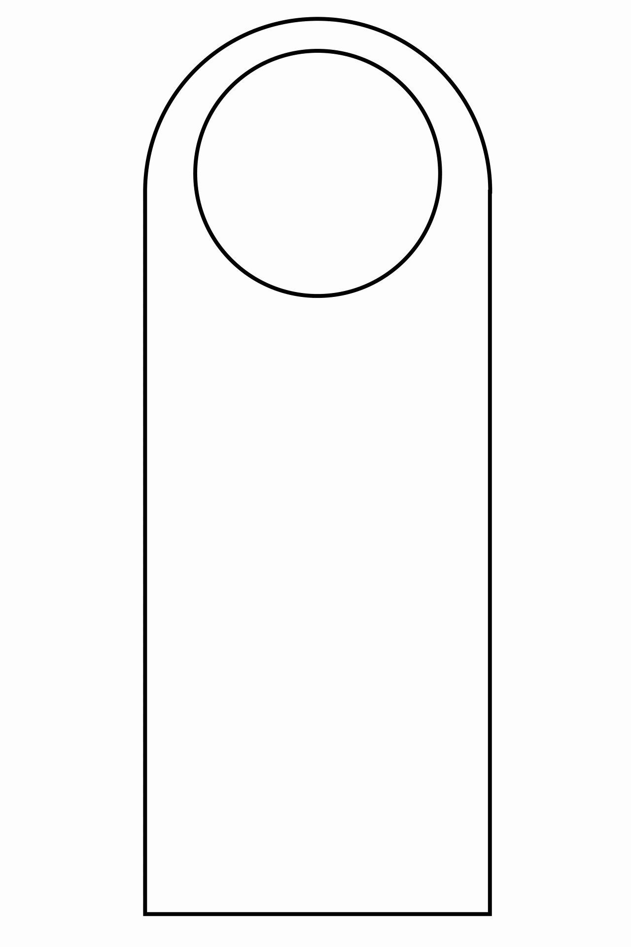 Door Hanger Template Illustrator Best Of Door Hanger Template
