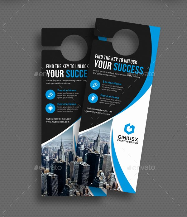 Door Hanger Template Psd Best Of 24 Door Hanger Templates Free Premium Psd Png Eps Ai