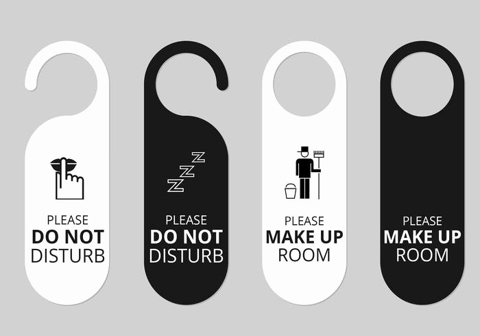 Door Hanger Template Psd Best Of Hotel Door Hanger Tags Psd Set Free Shop Brushes at