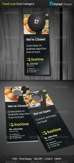 Door Hanger Template Psd Luxury Cooking Lessons Flyer Template V2