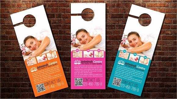 Door Hanger Template Psd New 7 Sample Healthcare Door Hangers