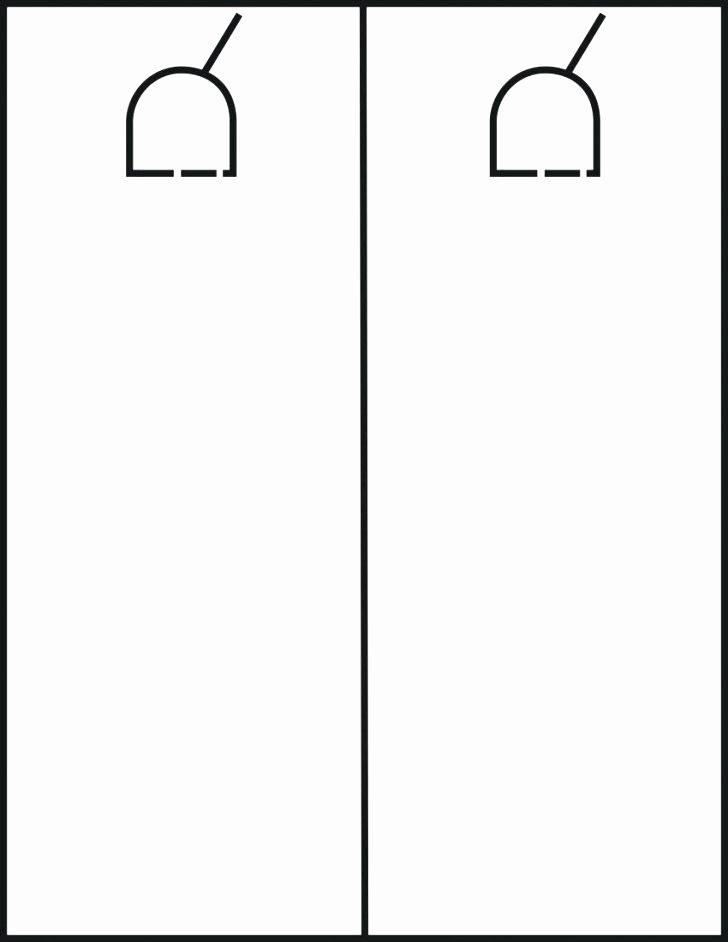 Door Hanger Template Publisher Inspirational Free Door Hanger Template New Gallery Publisher for