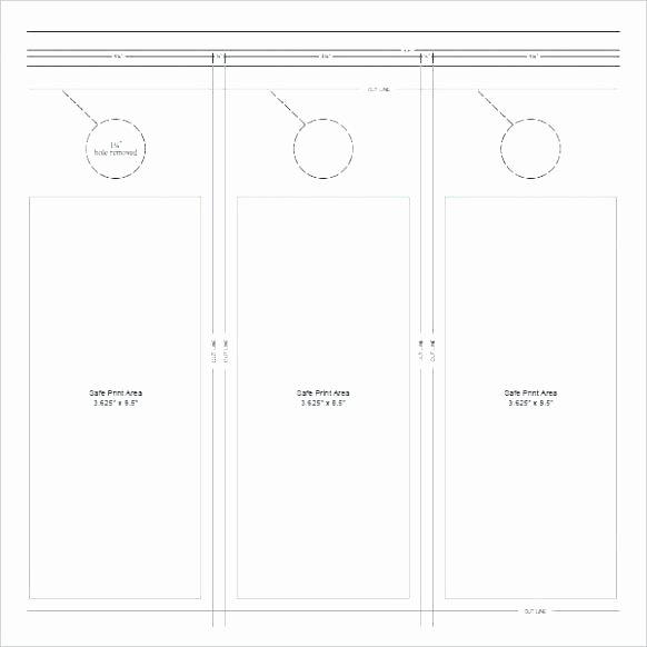 Door Hanger Template Publisher New Free Door Hanger Template New Gallery Publisher for