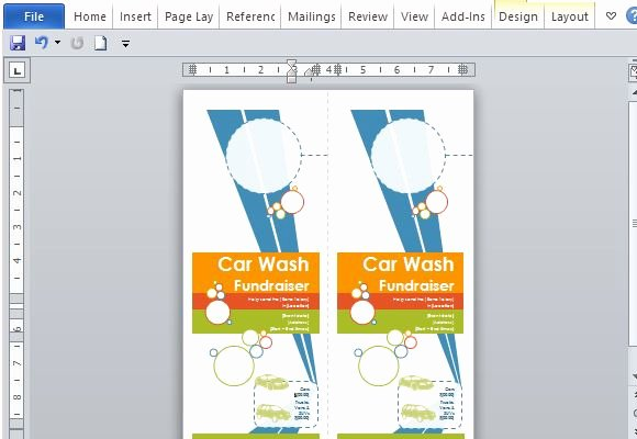 Door Hanger Template Word Awesome Door Hanger Flyers Template for Word