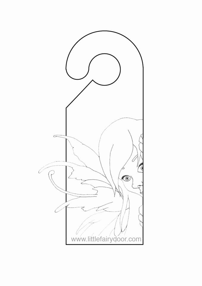 """Door Knob Hanger Template Beautiful Printable Door Tags & Posts """"""""sc"""" 1""""st"""" """"pezcame"""