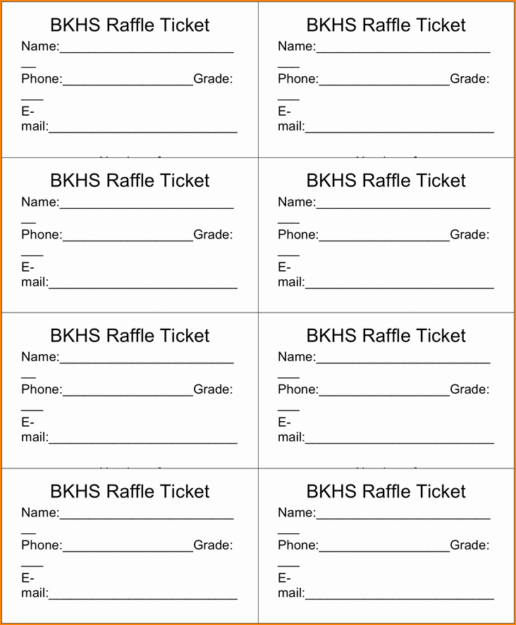 Draw Entry form Template Awesome Drawing Slips Template Raffle Ticket Template 3