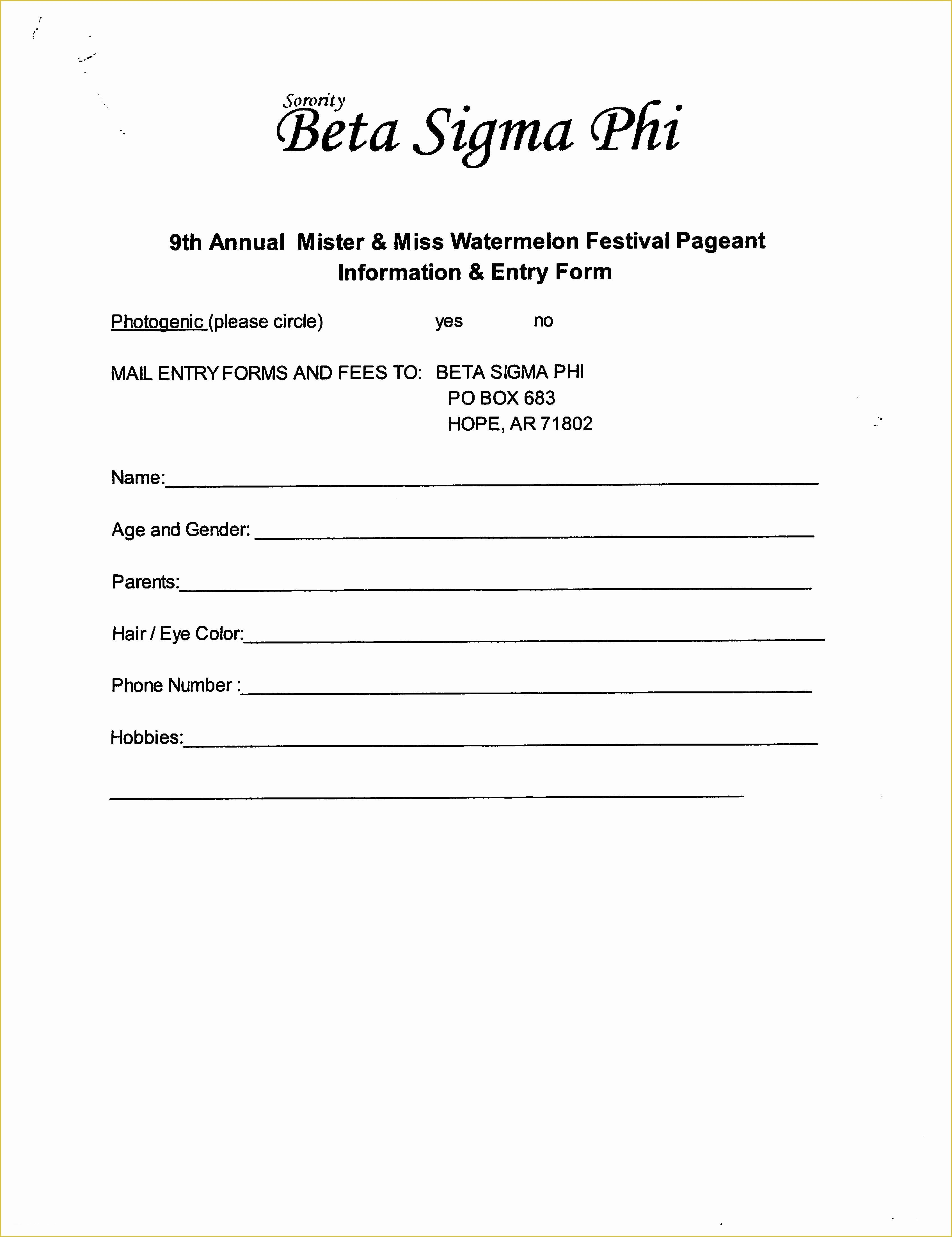 Draw Entry form Template Awesome Entry form Template Free 6 Best Drawing Entry forms