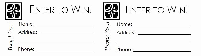 Drawing Entry form Template Lovely 40 Free Editable Raffle & Movie Ticket Templates