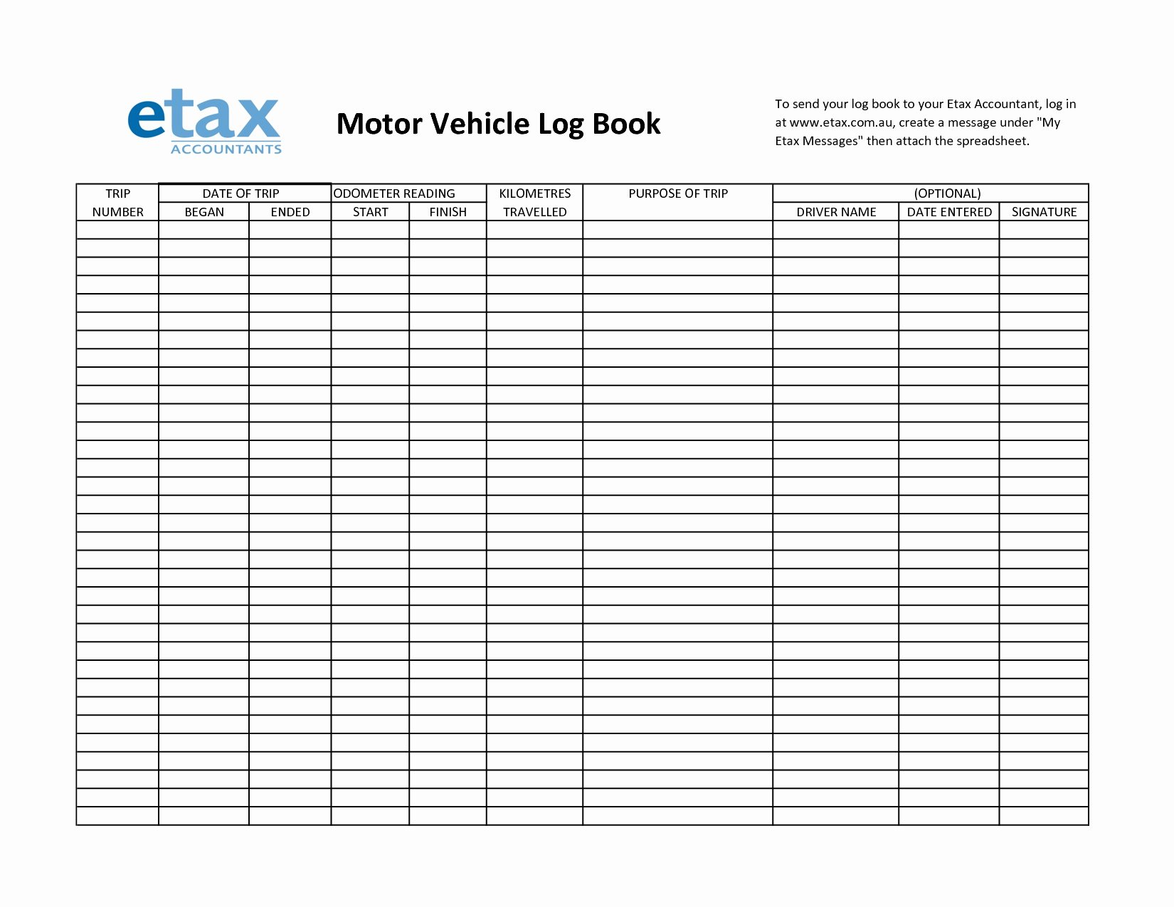 Driver Log Template Unique Truck Driver Log Book Excel Template
