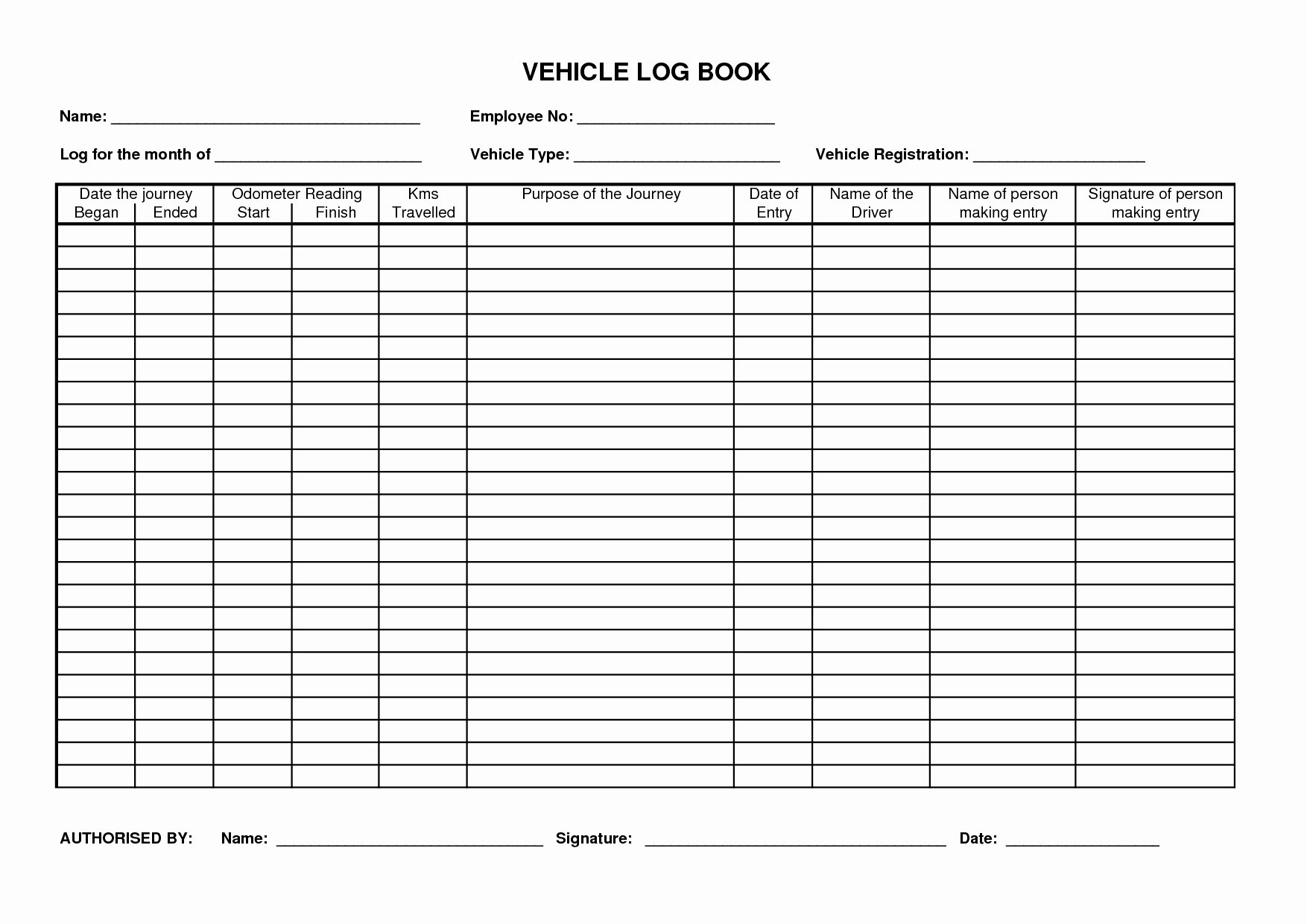 Drivers Log Book Template Free Lovely Truck Driver Log Book Template