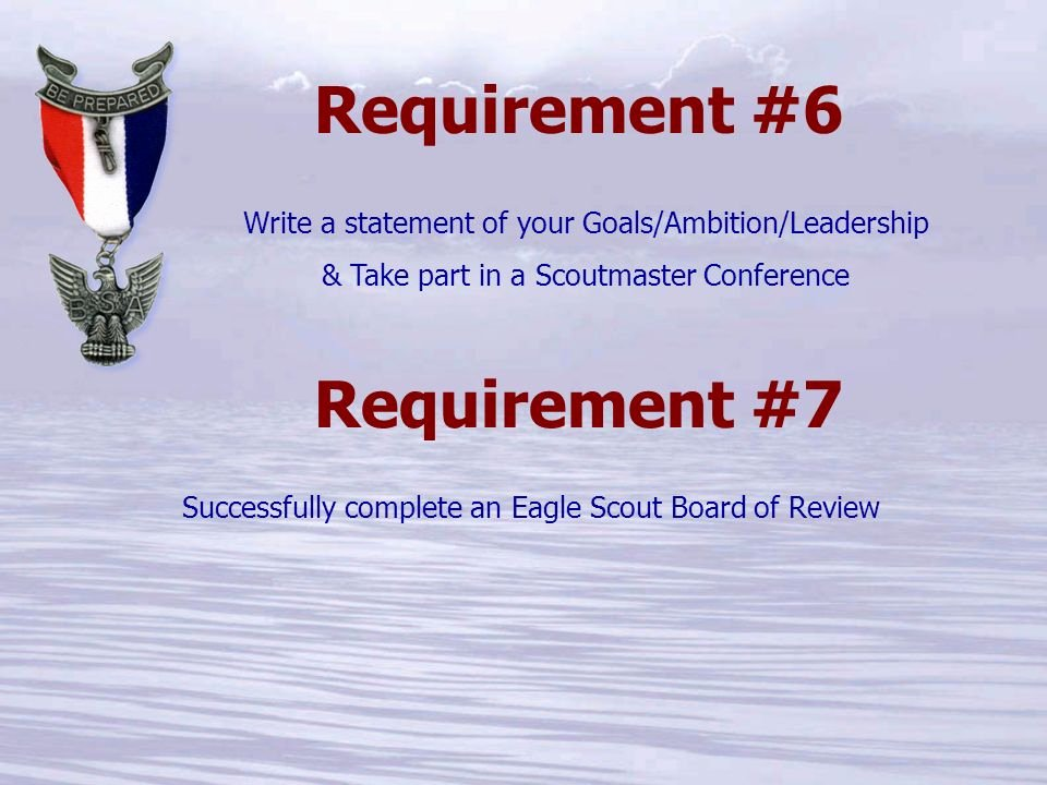 Eagle Scout Ambition Statement Example Beautiful the 'life to Eagle' Process for Ppt Video Online