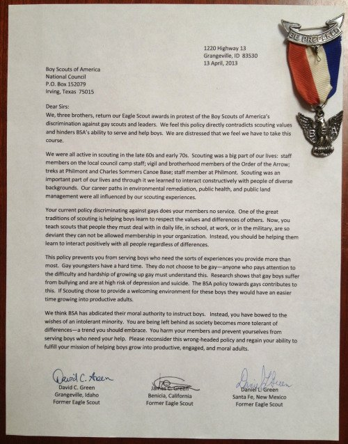 Eagle Scout Ambition Statement Example Luxury Eagle Scouts Returning Our Badges