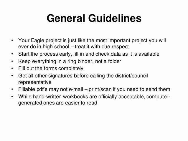 Eagle Scout Ambition Statement Example New Eagle Scout Project Documentation