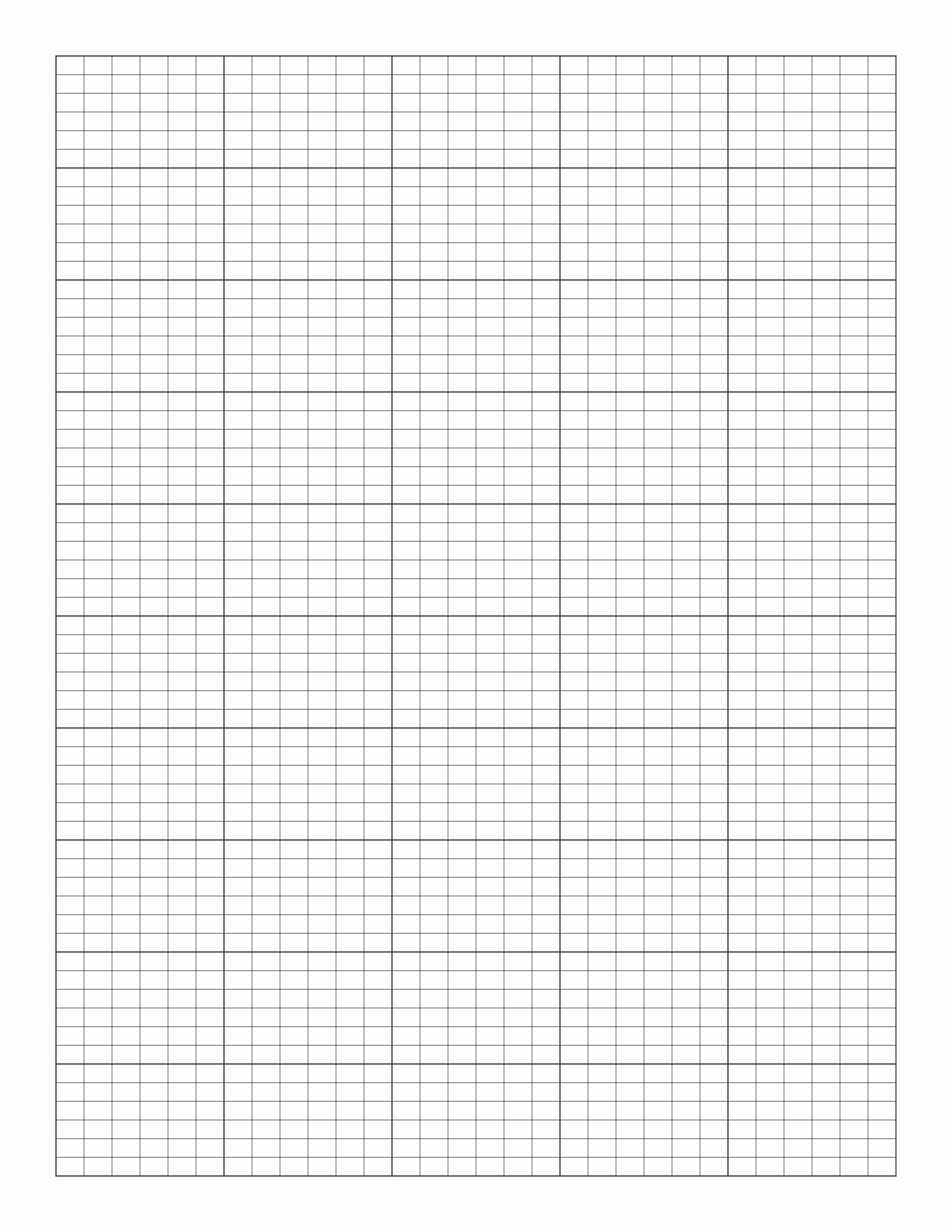 Editable Class List Elegant Free Line Graph Paper Simple asymmetric