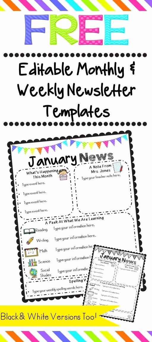 Editable Class List Lovely De 25 Bedste Idéer Inden for Kindergarten Newsletter På