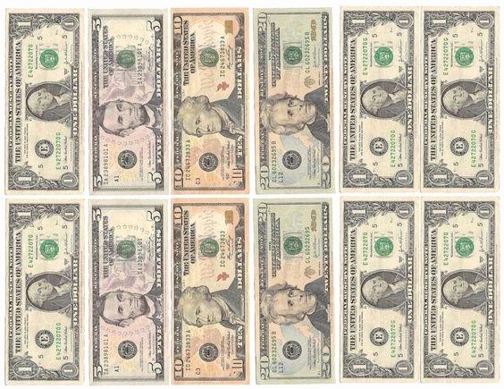 Editable Play Money Template Beautiful Fake Money for Kids Printable Sheets Play Money