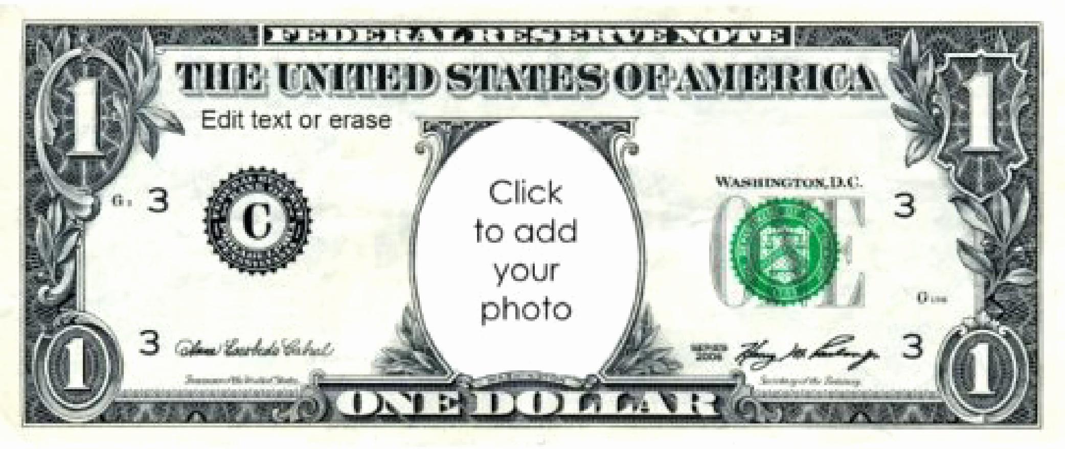 Editable Play Money Template New Free Play Money 1 Dollar