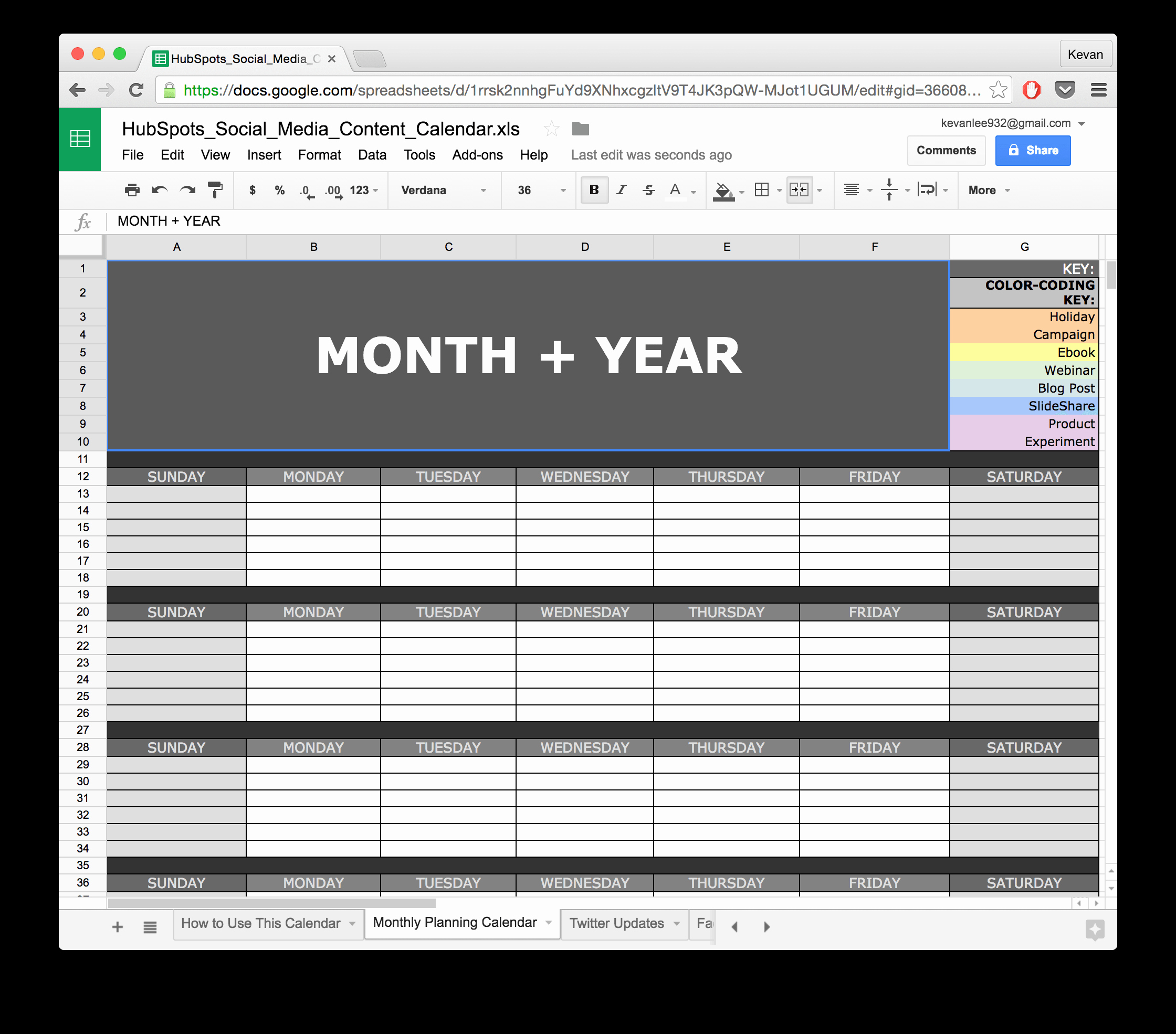 Editorial Calendar Template Google Docs Awesome social Media Calendar Template Google Docs