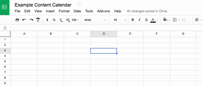 Editorial Calendar Template Google Docs Beautiful How to Build A social Media Editorial Calendar Coschedule