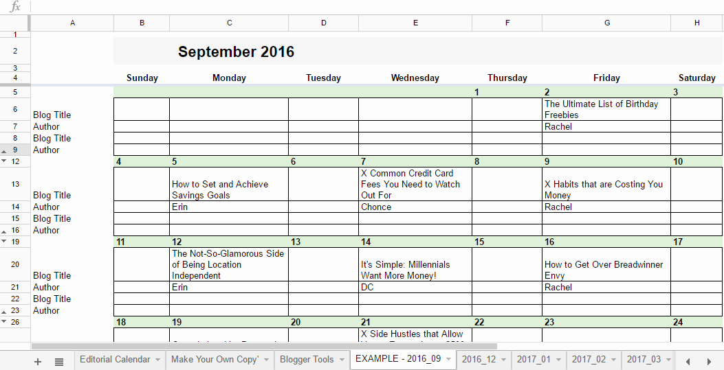 Editorial Calendar Template Google Docs Elegant Free 2019 Editorial Calendar In Google Sheets