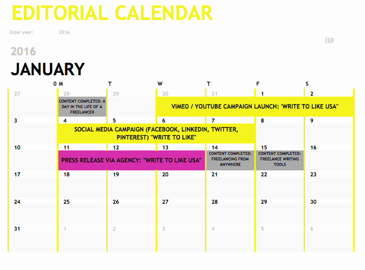 Editorial Calendar Template Google Docs Fresh Editorial Calendars Perspectives From Industry Experts