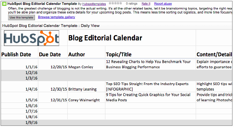 Editorial Calendar Template Google Docs Luxury 2019 Editorial Calendar Templates