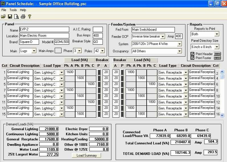 Electrical Panel Schedule Template Excel Awesome Download Electrical Panel Schedule Template software
