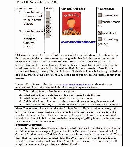Elementary School Lesson Plan Elegant Best 25 Lesson Plan Templates Ideas On Pinterest