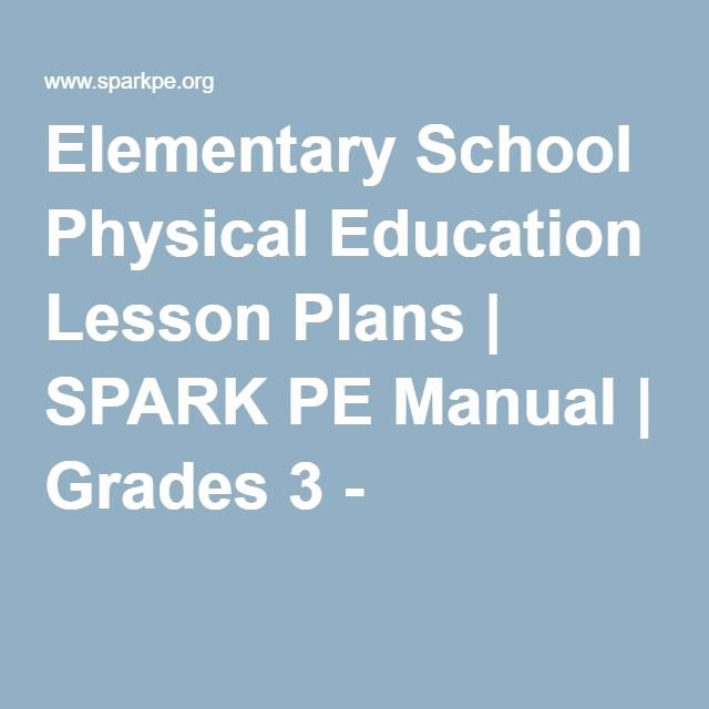 Elementary School Lesson Plan Lovely 25 Best Ideas About Physical Education Lesson Plans On