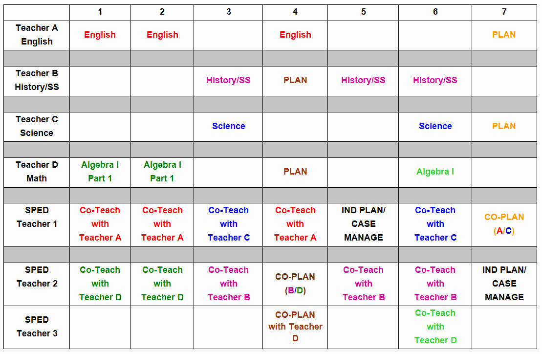 Elementary School Master Schedule Template Elegant W&m School Of Education