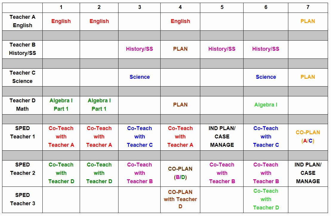 Elementary School Master Schedule Template Elegant W&m School Of Education