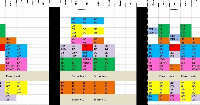 Elementary School Master Schedule Template Inspirational Kids Rock Creating A School Master Schedule