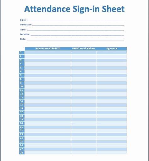 Email Sign Up Sheet Template Microsoft Word Best Of 10 Best Ideas About attendance Sheet Template On Pinterest
