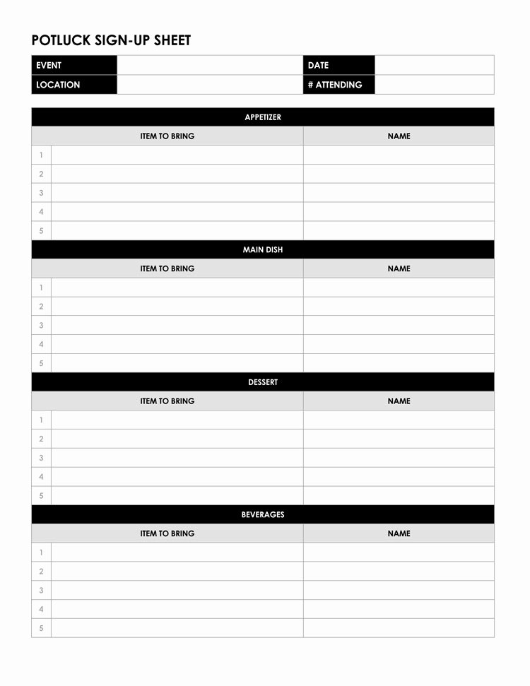 Email Sign Up Sheet Template Microsoft Word Unique 26 Free Sign Up Sheet Templates Excel & Word