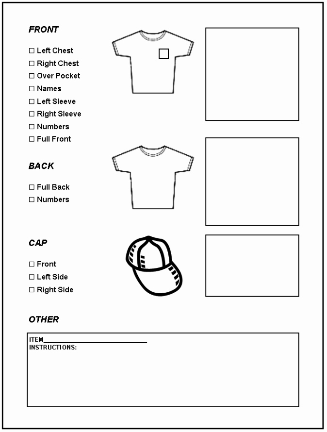 Embroidery order form Template Best Of Fuzzy Face Embroidery Screen Printing & More Inc Your