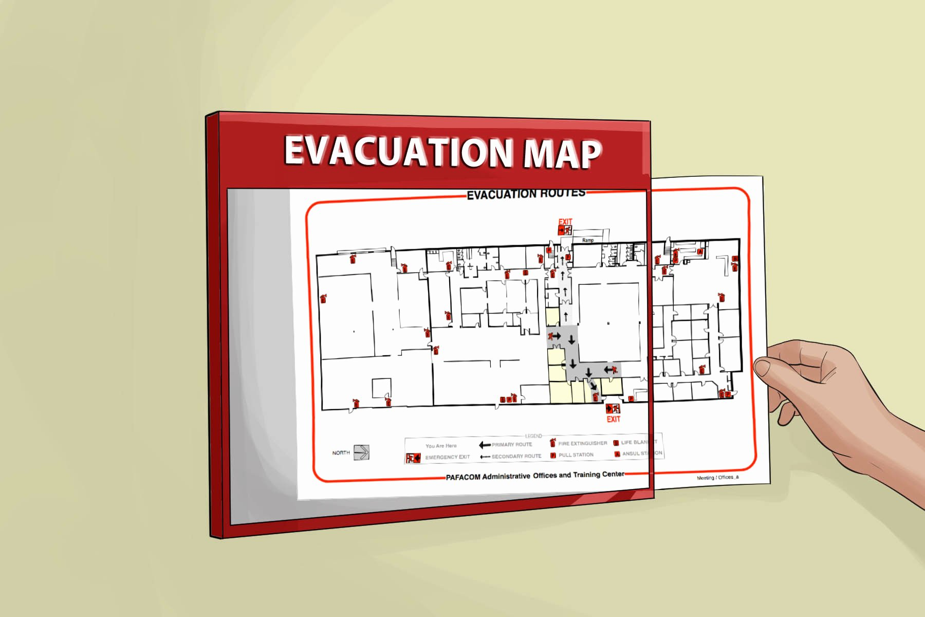 Emergency Evacuation Map Template Best Of How to Evacuate A Building In An Emergency 11 Steps