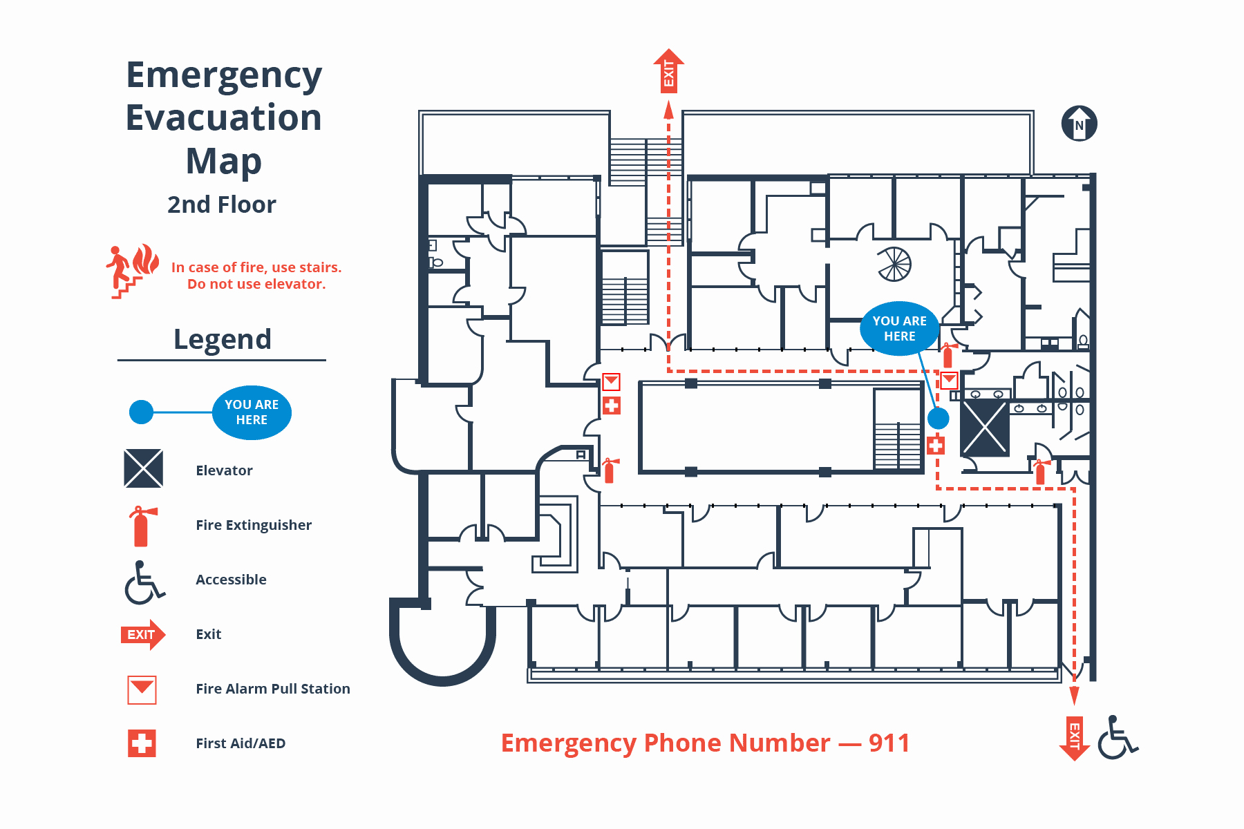 Emergency Evacuation Map Template Fresh How to Create A Simple Building Evacuation Diagram