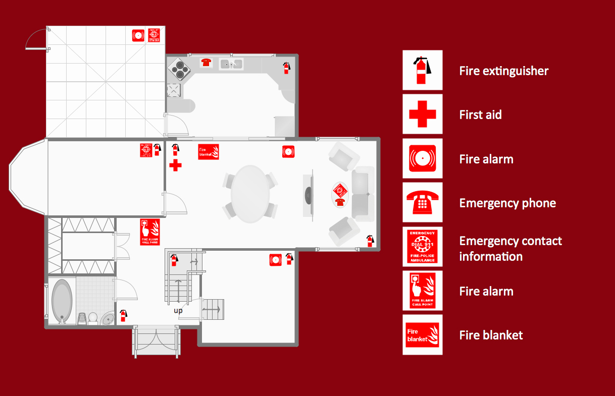 Emergency Evacuation Map Template Lovely Fire and Emergency Plans solution